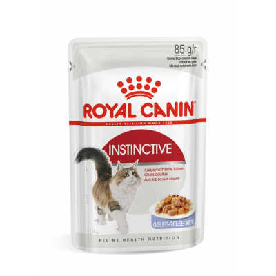 Royal Canin Instinctive Пауч для кошек Кусочки в желе Кот и Пес, онлайн зоомагазин и ветаптека